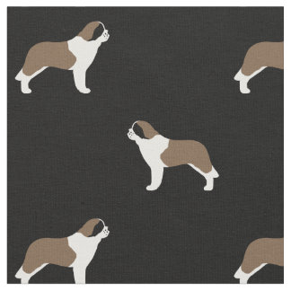 Saint Bernards Pattern Fabric