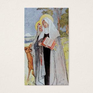 Saint Bridget and Deer Business Card