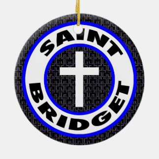 Saint Bridget Christmas Ornament