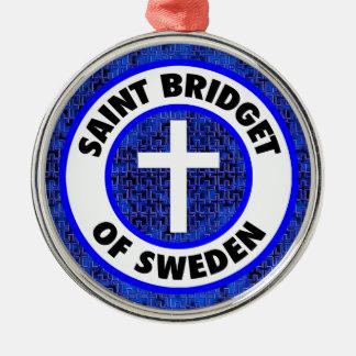 Saint Bridget of Sweden Christmas Ornament