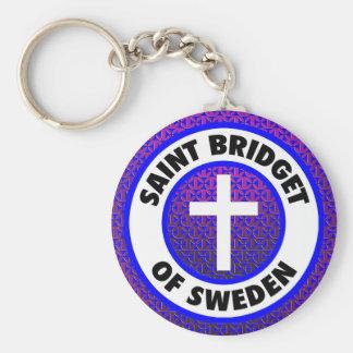 Saint Bridget of Sweden Key Ring