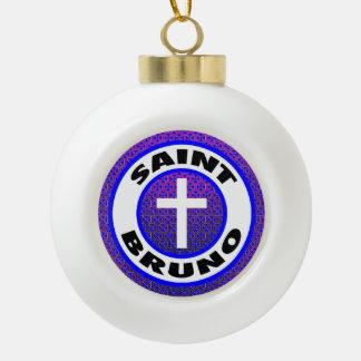 Saint Bruno Ceramic Ball Decoration