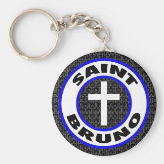 Saint Bruno Key Ring