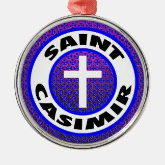Saint Casimir Christmas Ornament
