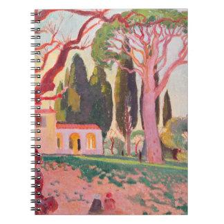 Saint-Cassien Chapel, Cannes, 1922 Notebook