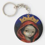 """""""Saint Catherine"""" Keychain"""