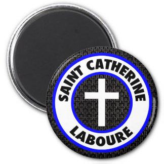 Saint Catherine Laboure 6 Cm Round Magnet