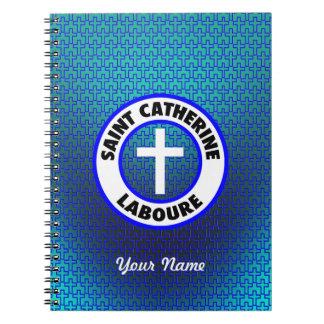 Saint Catherine Laboure Spiral Notebook