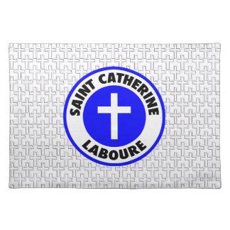 Saint Catherine Laboure Placemat