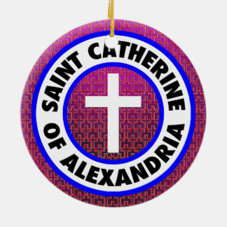 Saint Catherine of Alexandria Christmas Ornament