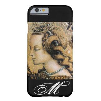 Saint Catherine of Alexandria Monogram Barely There iPhone 6 Case