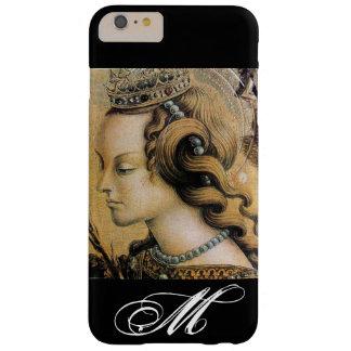 Saint Catherine of Alexandria Monogram Barely There iPhone 6 Plus Case