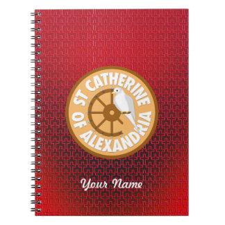 Saint Catherine of Alexandria Notebook