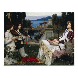 Saint Cecilia (1895) Postcards