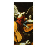 Saint Cecilia and the Angel by Carlo Saraceni Customised Rack Card
