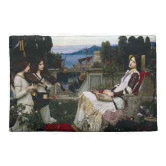 Saint Cecilia in the Garden Travel Accessory Bag