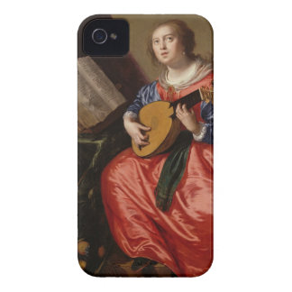 Saint Cecilia (oil on canvas) iPhone 4 Case