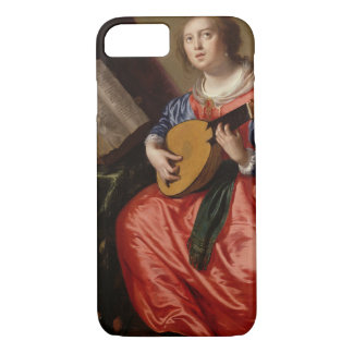Saint Cecilia (oil on canvas) iPhone 8/7 Case