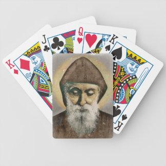 Saint Charbel Portrait Card Deck