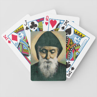 Saint Charbel Portrait Deck Of Cards