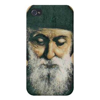 Saint Charbel Portrait iPhone 4 Cases