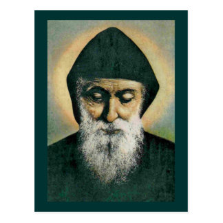 Saint Charbel Portrait Postcard
