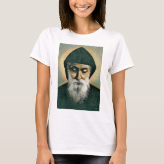 Saint Charbel Portrait T-Shirt