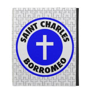Saint Charles Borromeo iPad Case