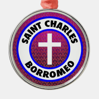 Saint Charles Borromeo Christmas Ornament