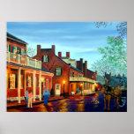 Saint Charles Cityscape II Landscape Oil Painting Print