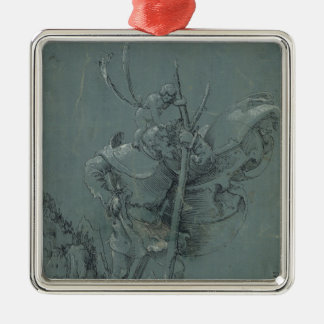 Saint Christopher, 1510 Christmas Ornament