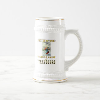 SAINT CHRISTOPHER BEER STEIN