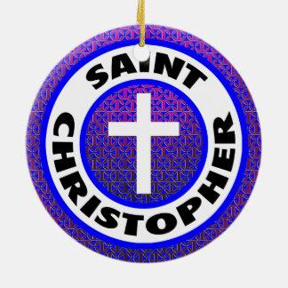 Saint Christopher Christmas Ornament