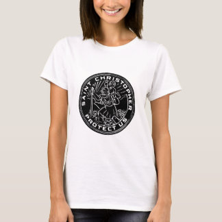 Saint Christopher Medal T-Shirt