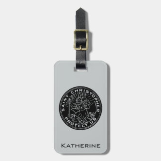 Saint Christopher Medal Tags For Bags