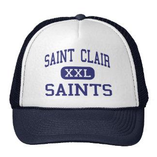 Saint Clair - Saints - High - Saint Clair Michigan Hats