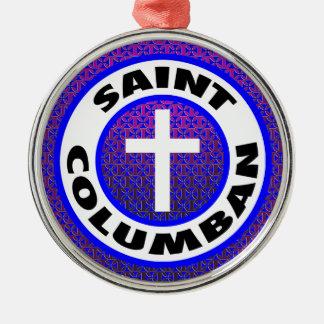 Saint Columban Christmas Ornament