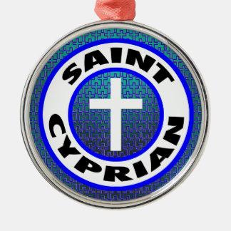 Saint Cyprian Christmas Ornament