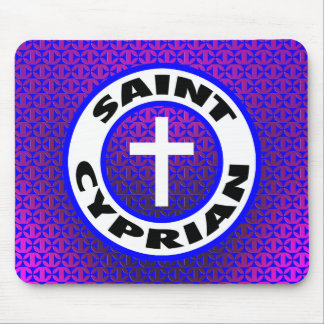 Saint Cyprian Mouse Pads