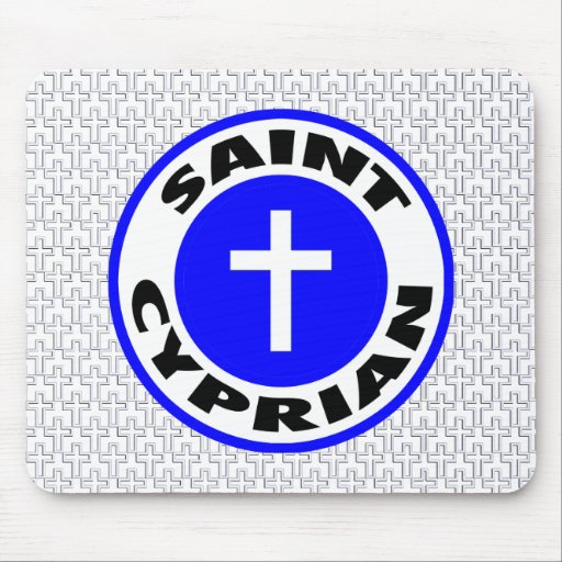 Saint Cyprian Mouse Pad