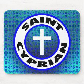 Saint Cyprian Mouse Pad