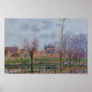 Saint Cyr du Vaudreuil by Gustave Loiseau Print