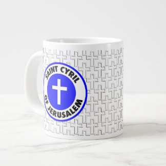 Saint Cyril of Jerusalem Jumbo Mug