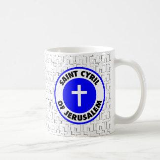 Saint Cyril of Jerusalem Basic White Mug
