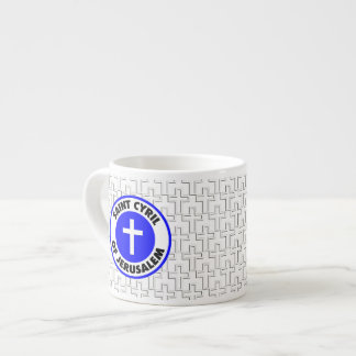 Saint Cyril of Jerusalem Espresso Mug