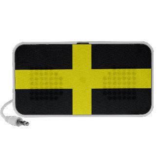 saint david cross flag united kingdom wales portable speakers