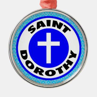 Saint Dorothy Christmas Ornament