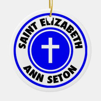 Saint Elizabeth Ann Seton Christmas Ornaments
