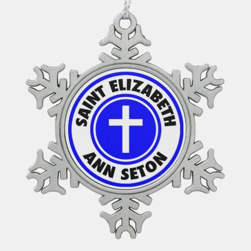 Saint Elizabeth Ann Seton Ornaments