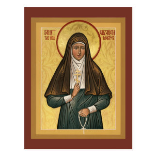 Saint Elizabeth the New Martryr Prayer Card Postcard